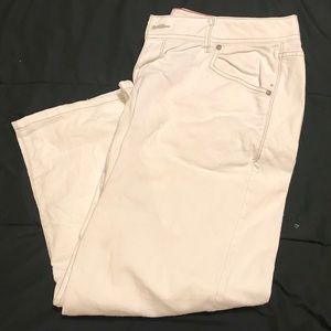Lane Bryant Capris Pants Women's White Flare